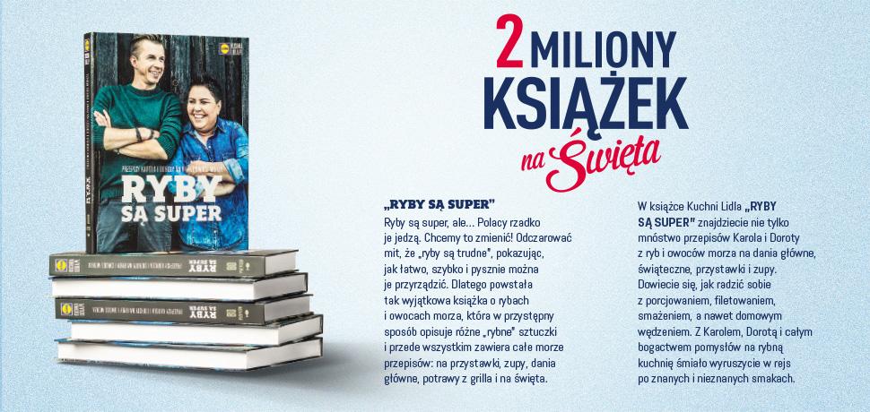 Dwa miliony książek na Święta @ Lidl
