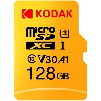 Karta pamięci MicroSD 128GB Kodak U3 A1 V30
