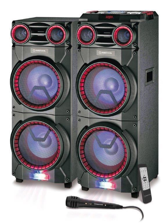 Manta zestaw głośników 160 watt