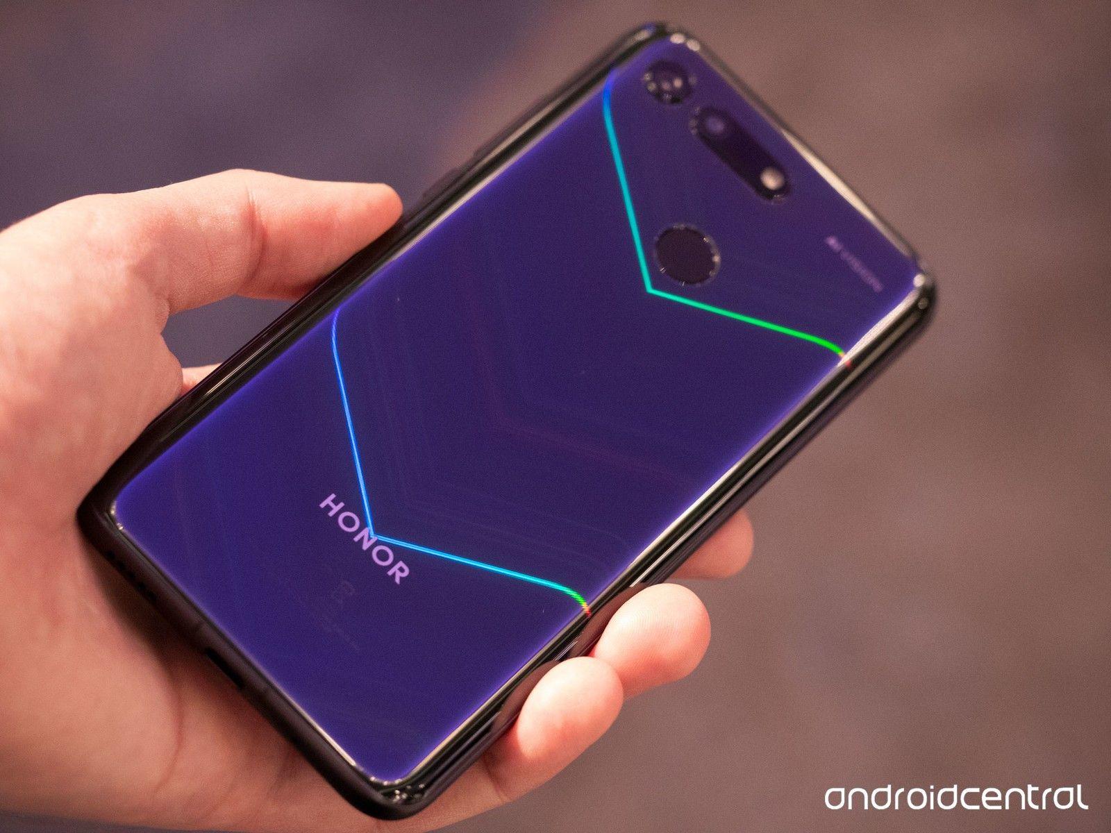 Huawei Honor V20 (View 20) black global 6/128 - Sony IMX586 48MPX + 3D TOF, dziurka zamiast notcha