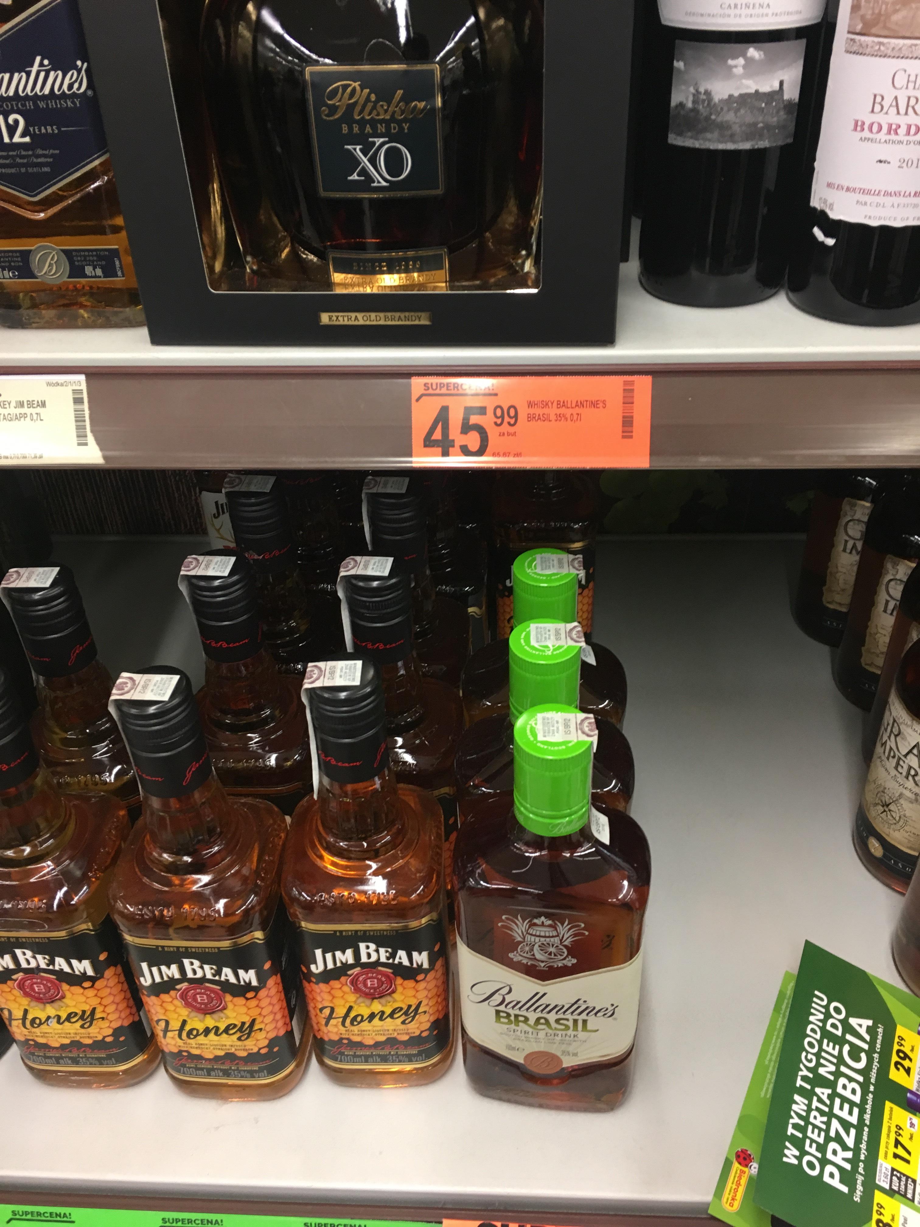 Ballantine's Brasil 0.7 spirit drink