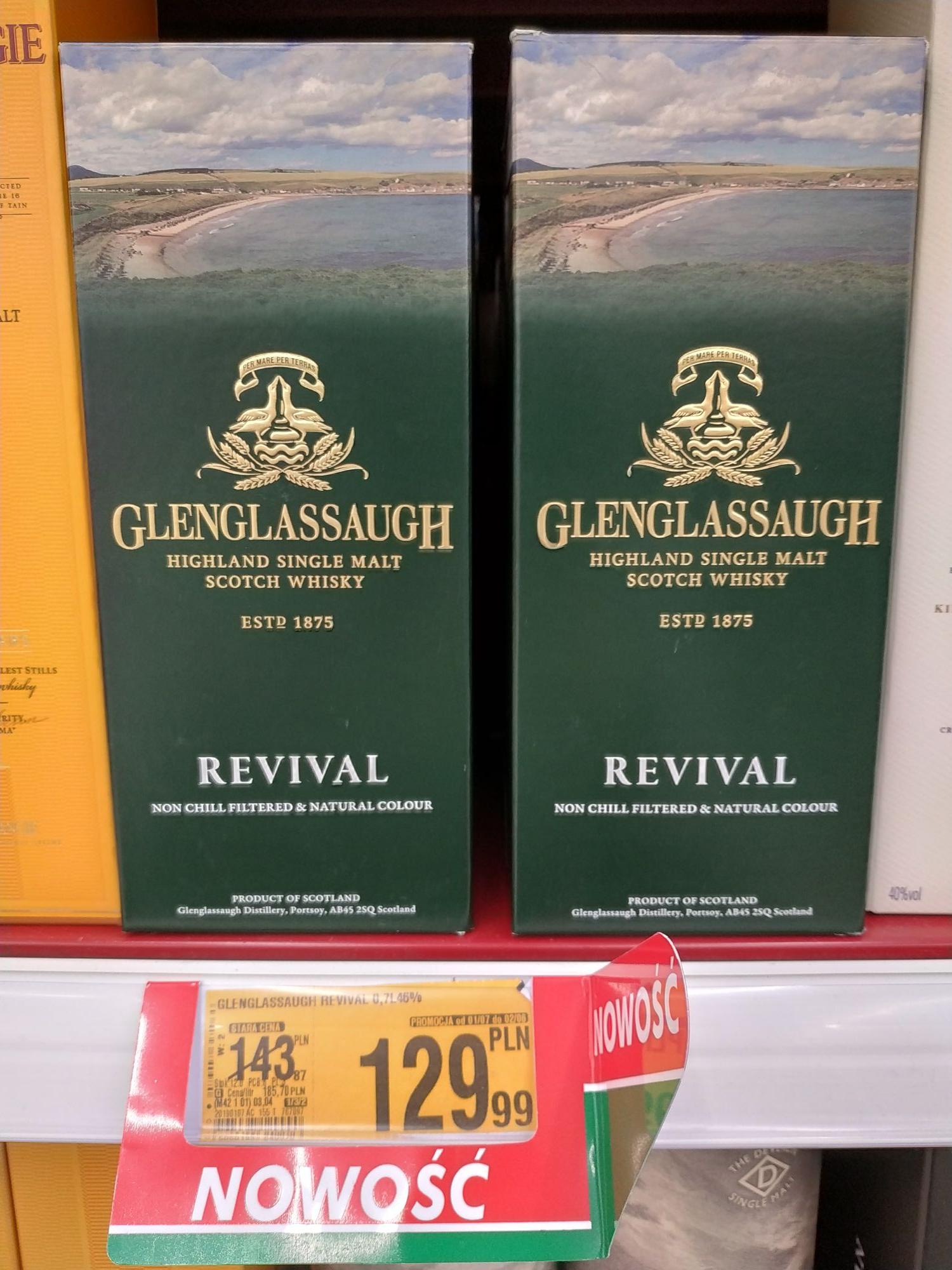 Whisky/whiskey single malt Glenglassaugh Revival 0.7l 46%
