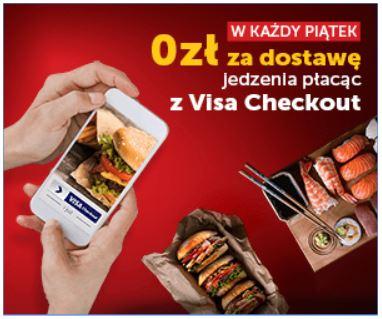 Darmowa dostawa w piątki przy płatności Visa Checkout @ Pizza Portal