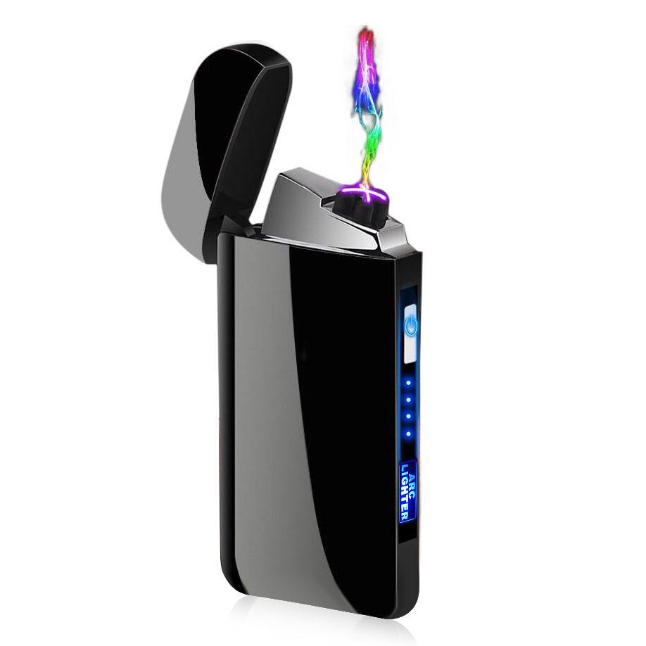 Zapalniczka plazmowa USB Rechargeable Electric Double Arc Lighter