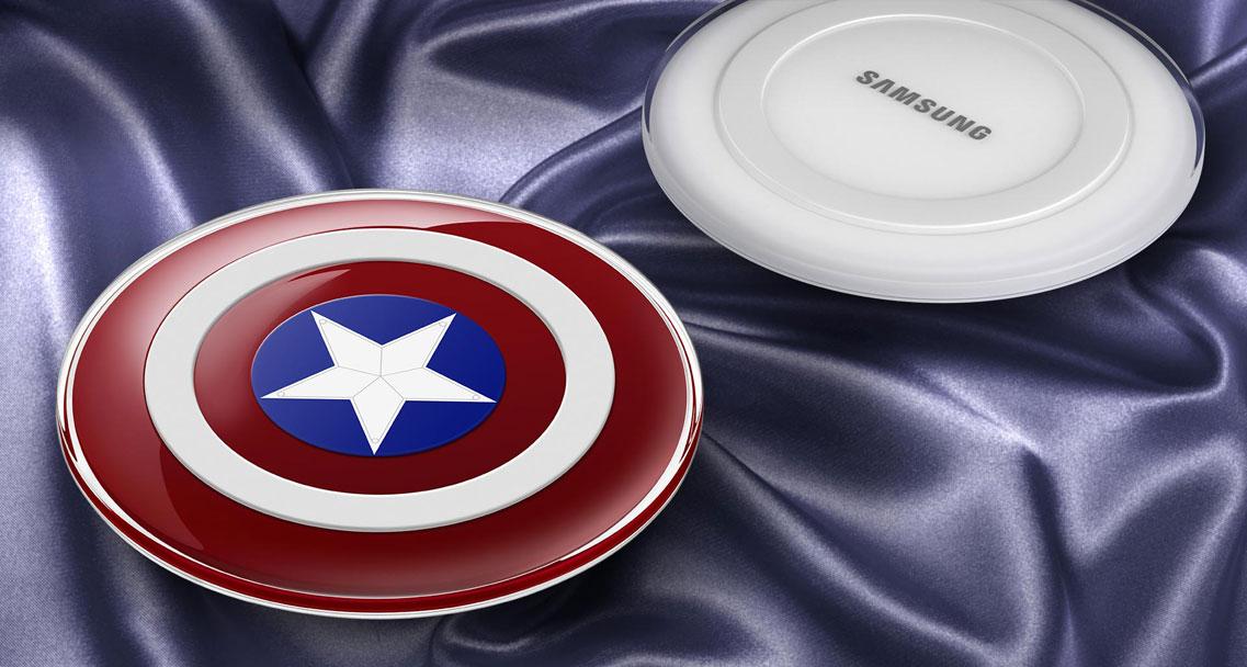 Ładowarka indukcyjna Samsung Avengers (wersja limitowana) za 99 zł @ x-kom