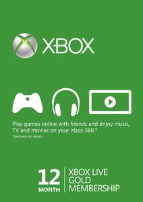 Abonament Xbox Live Gold 12 miesięcy za 152,38zł @ CDkeys