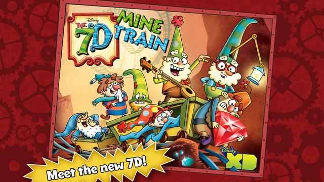 The 7D Mine Train (0zł z 4,99euro) iOS