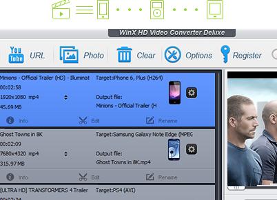 WinX HD Video Converter Deluxe - Za Darmo, 100% zniżki