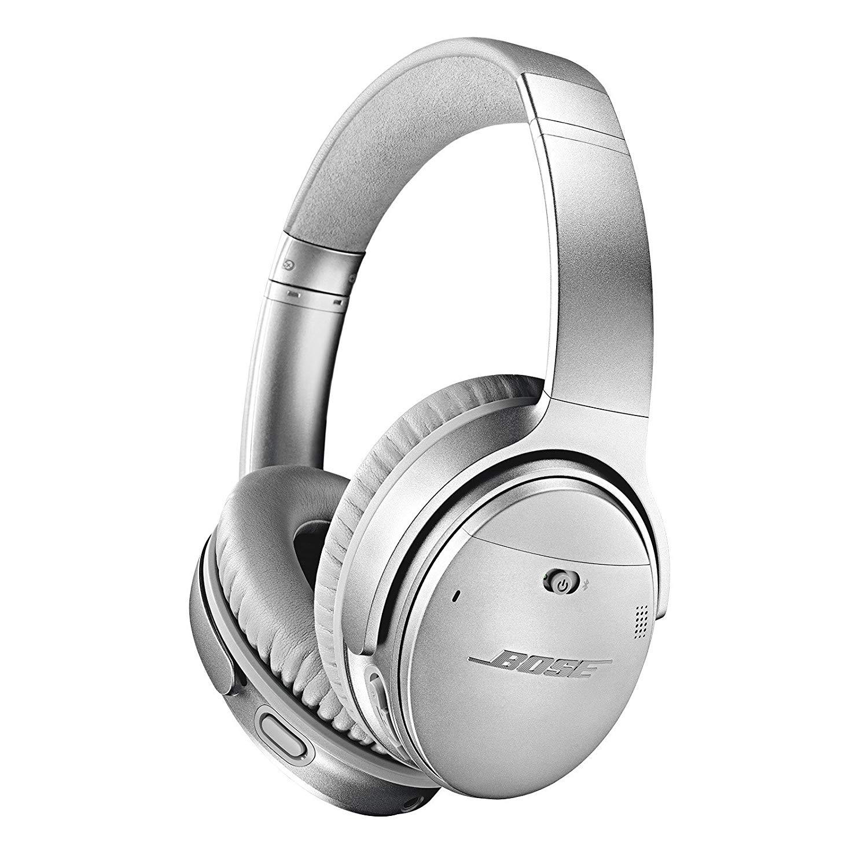 Słuchawki BOSE QuietComfort 35 II (QC35) srebrne @amazon.it