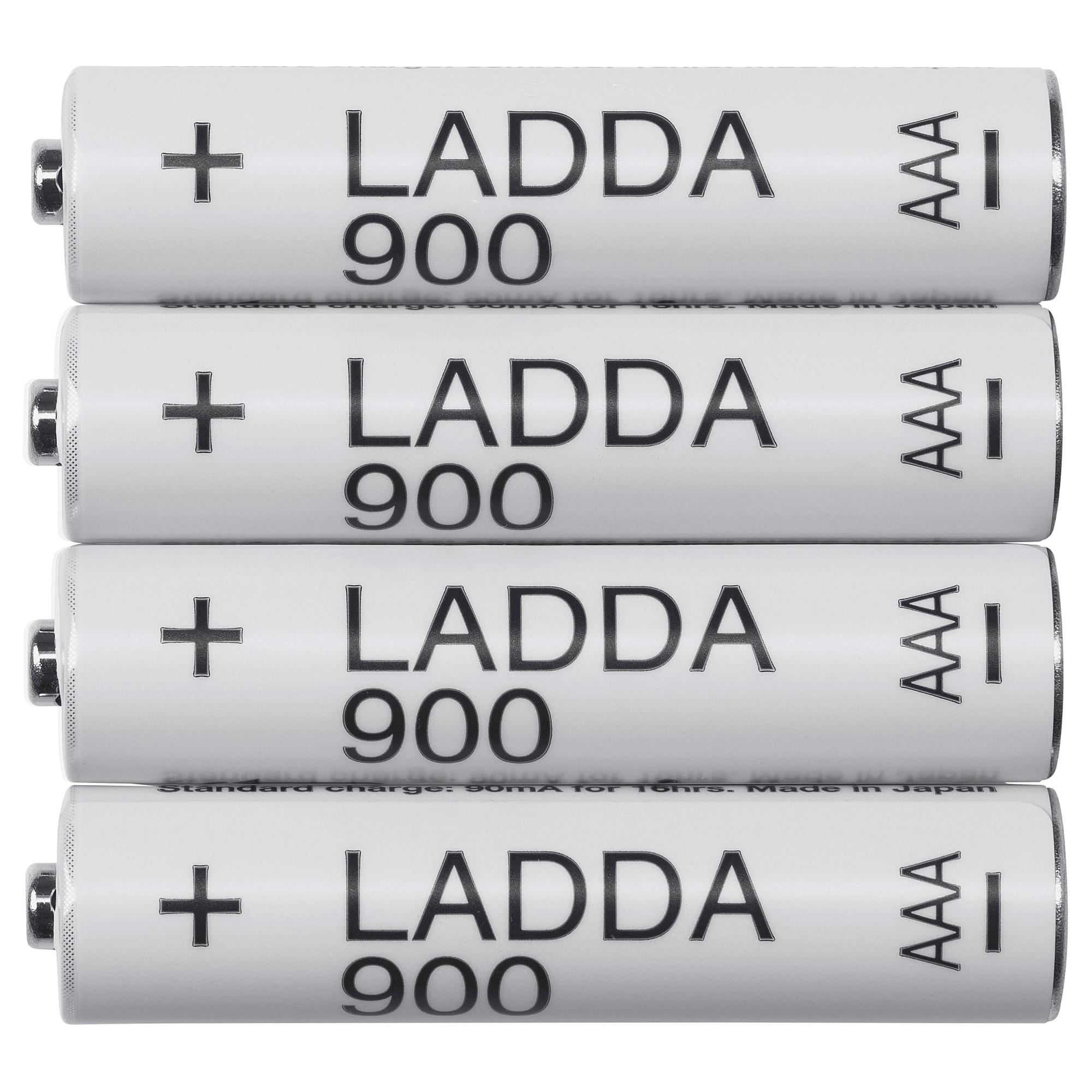 Akumulatorki IKEA LADDA 900mAh AAA 4sztuki @ Allegro