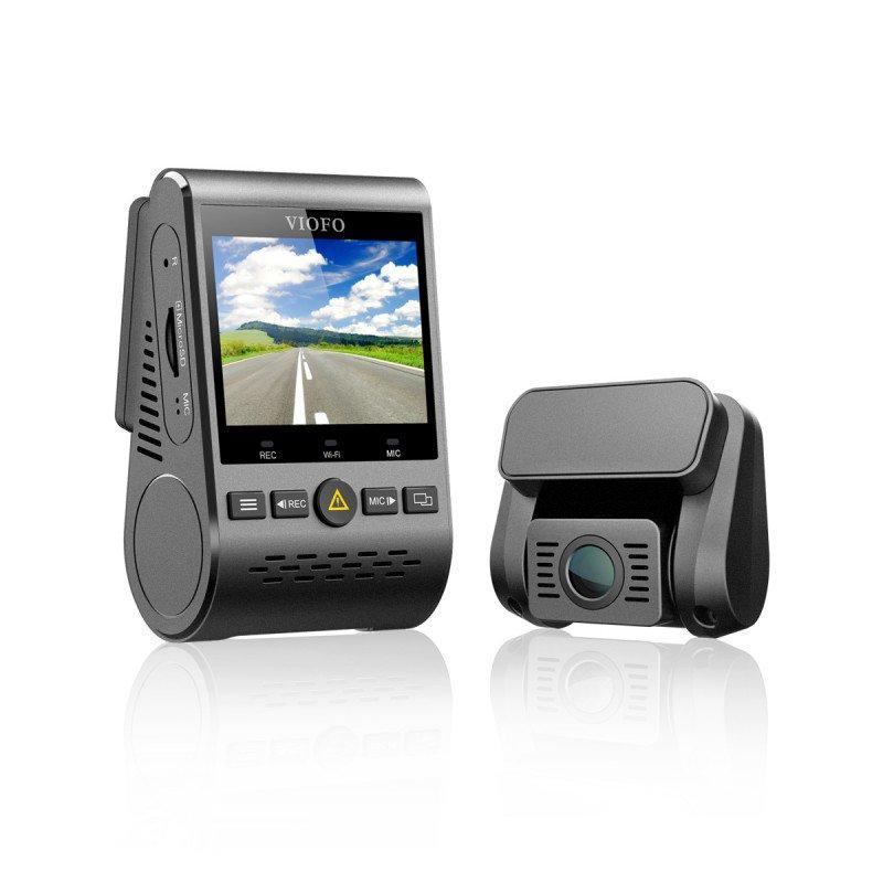Kamera samochodowa przednia oraz tylna: Viofo A129 Dual Channel z GPS