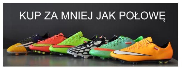 Wyprzedaż butów sportowych na 11Teamsports.pl
