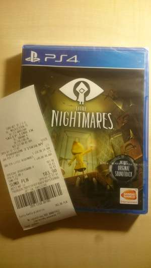 Little Nightmares PS4 Rtv Euro Agd