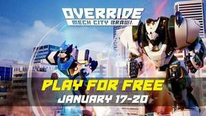 Darmowy weekend Override: Mech City na PC, XBOX ONE oraz PS4