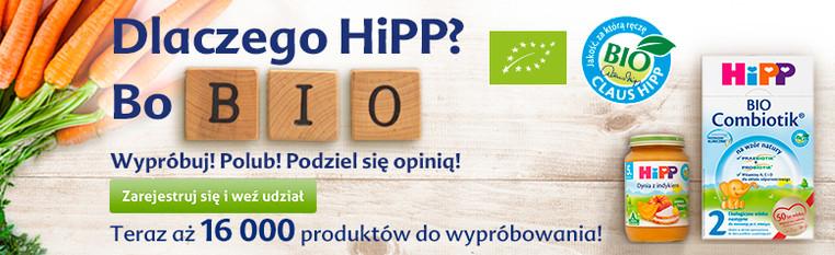 Darmowe testowanie produktów HIPP