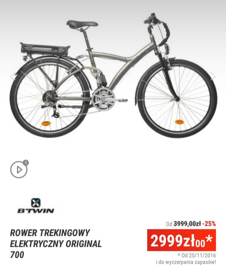 Decathlon rower elektryczny