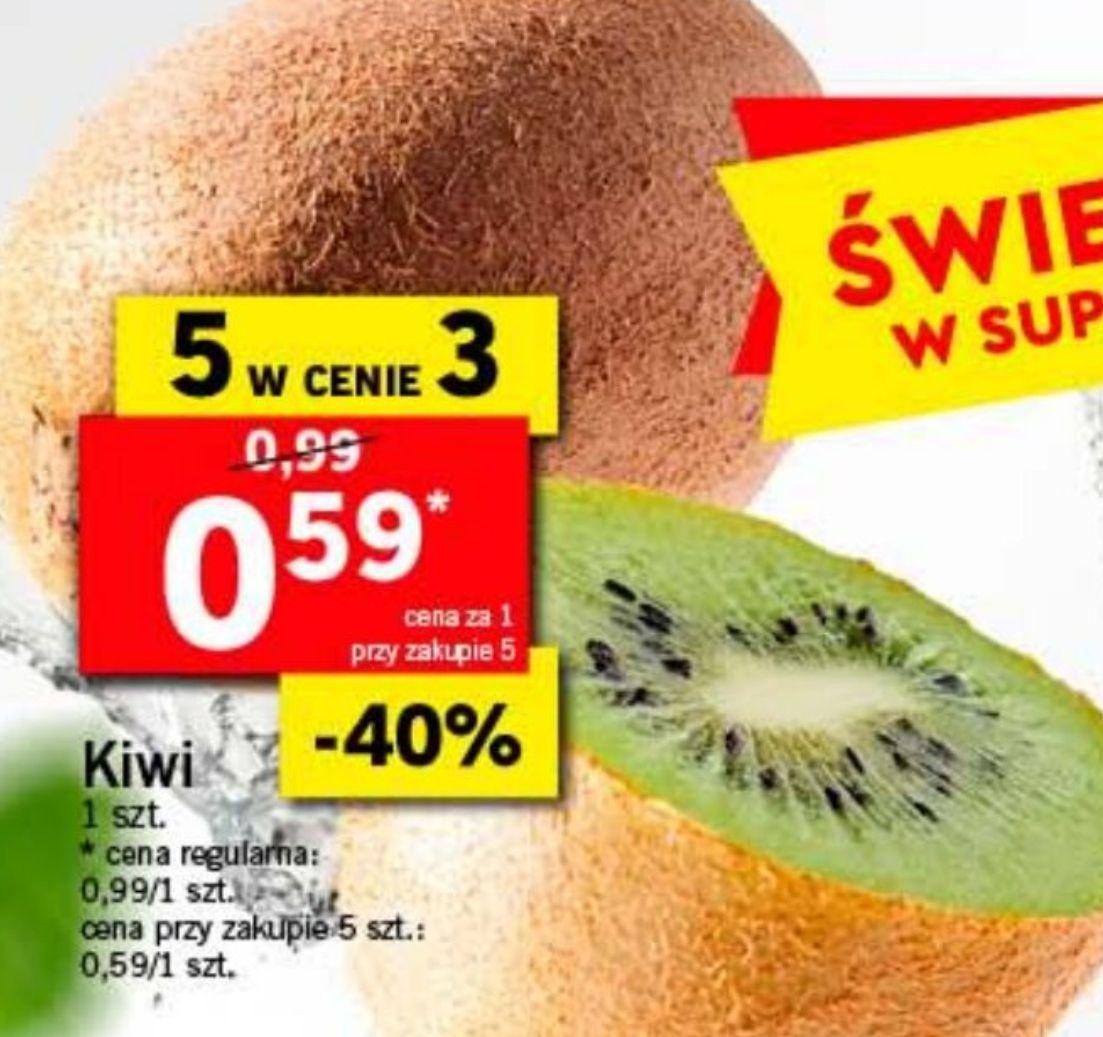 Kiwi 59 gr za szt przy zakup. 5szt