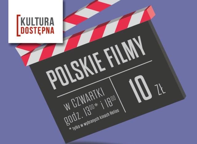 Kultura Dostępna | Wspieraj Polskie filmy w Czwartki @Helios