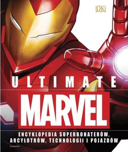 Książka Ultimate Marvel - wersja zwykła (nie edycja specjalna)