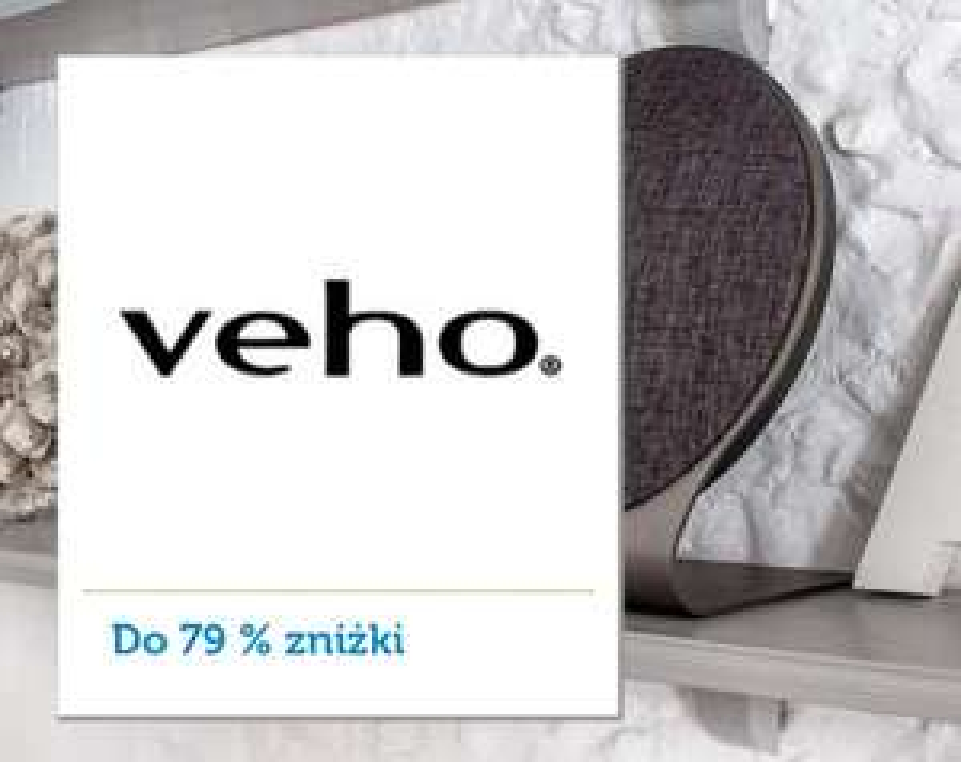 Elektronika użytkowa brytyjskiej firmy Veho - 26 ofert taniej do -79%