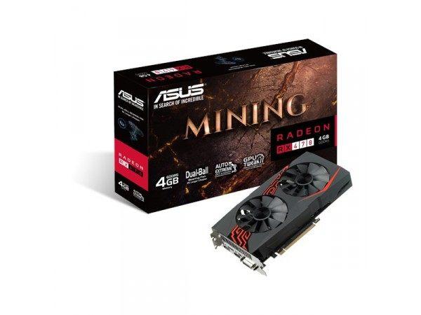 AMD ASUS Radeon RX 470 MINING H 4GB LED 256BIT DVI