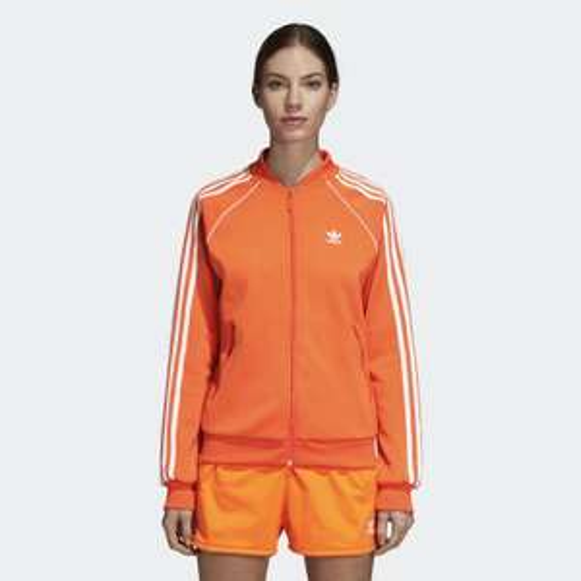 Bluza Adidas damska - pomarańczowa