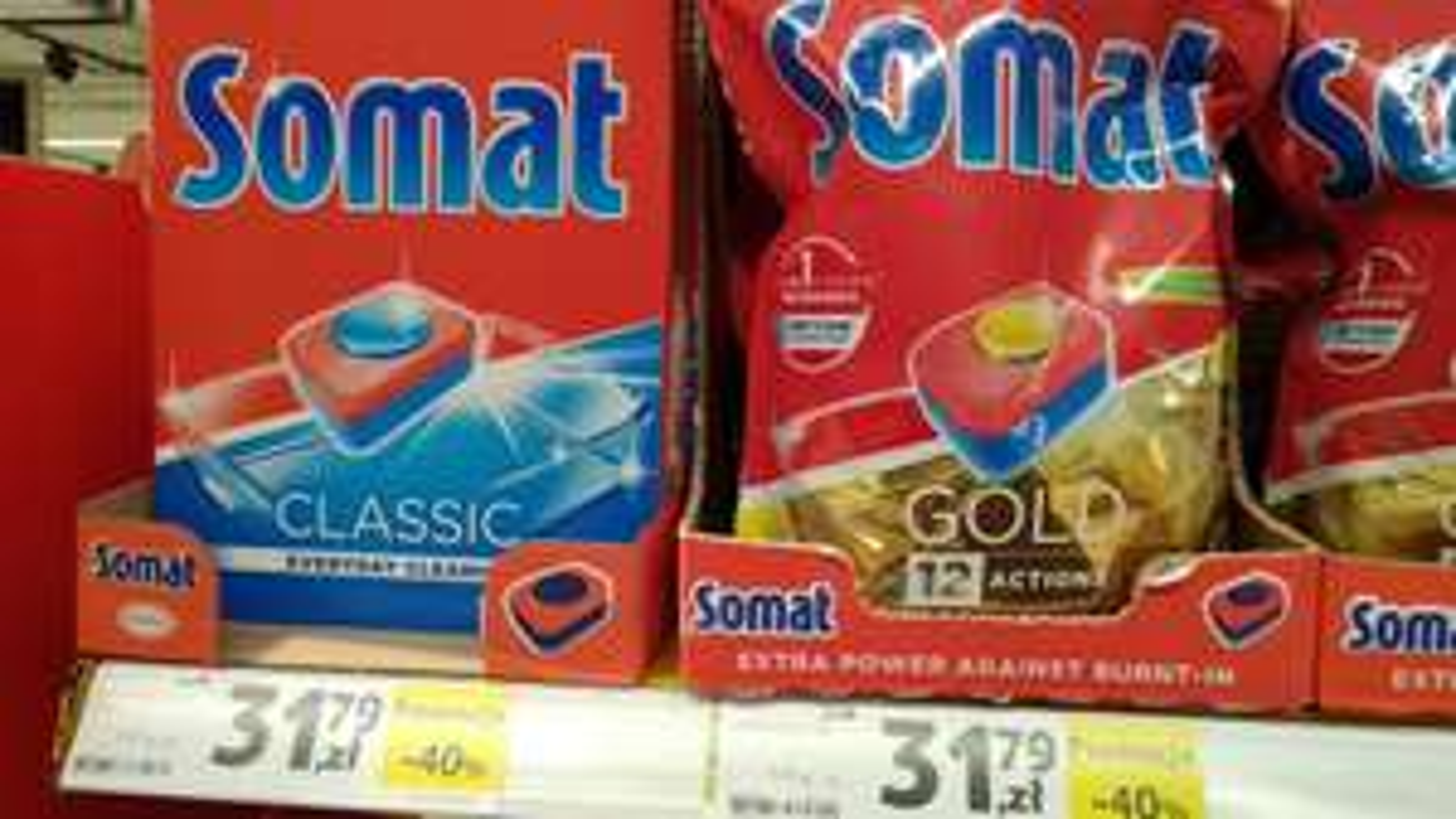 Somat Gold 54 tabletki w Tesco