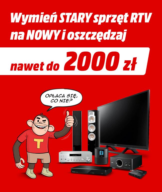 Media Markt wymień stary sprzęt rtv na nowy.