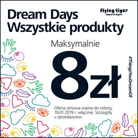 Wszystkie produkty za max.8zł @ Flying Tiger