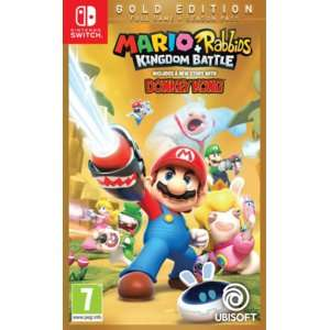 Mario + Rabbids: Kingdom Battle Gold Edition na Nintendo Switch za 119 złotych w Mediamarkt