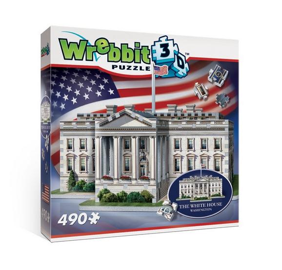 Wrebbit Puzzle 3D 490 elementów White House za 26,99zł @ Merlin