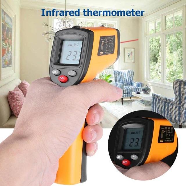 Pirometr GM320, termometr na podczerwień w dobrej cenie 5,94$