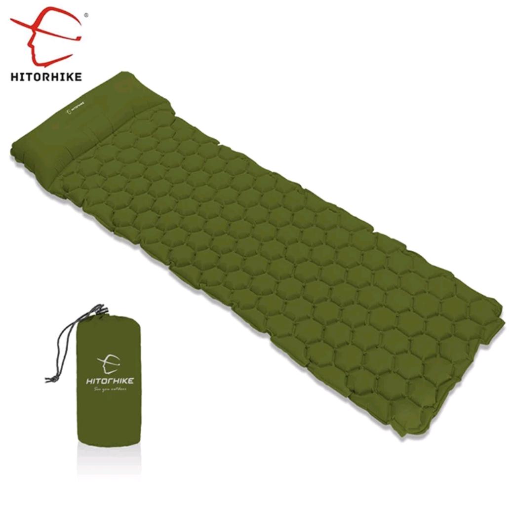 Lekki materac trekkingowy (dmuchany) #outdoor