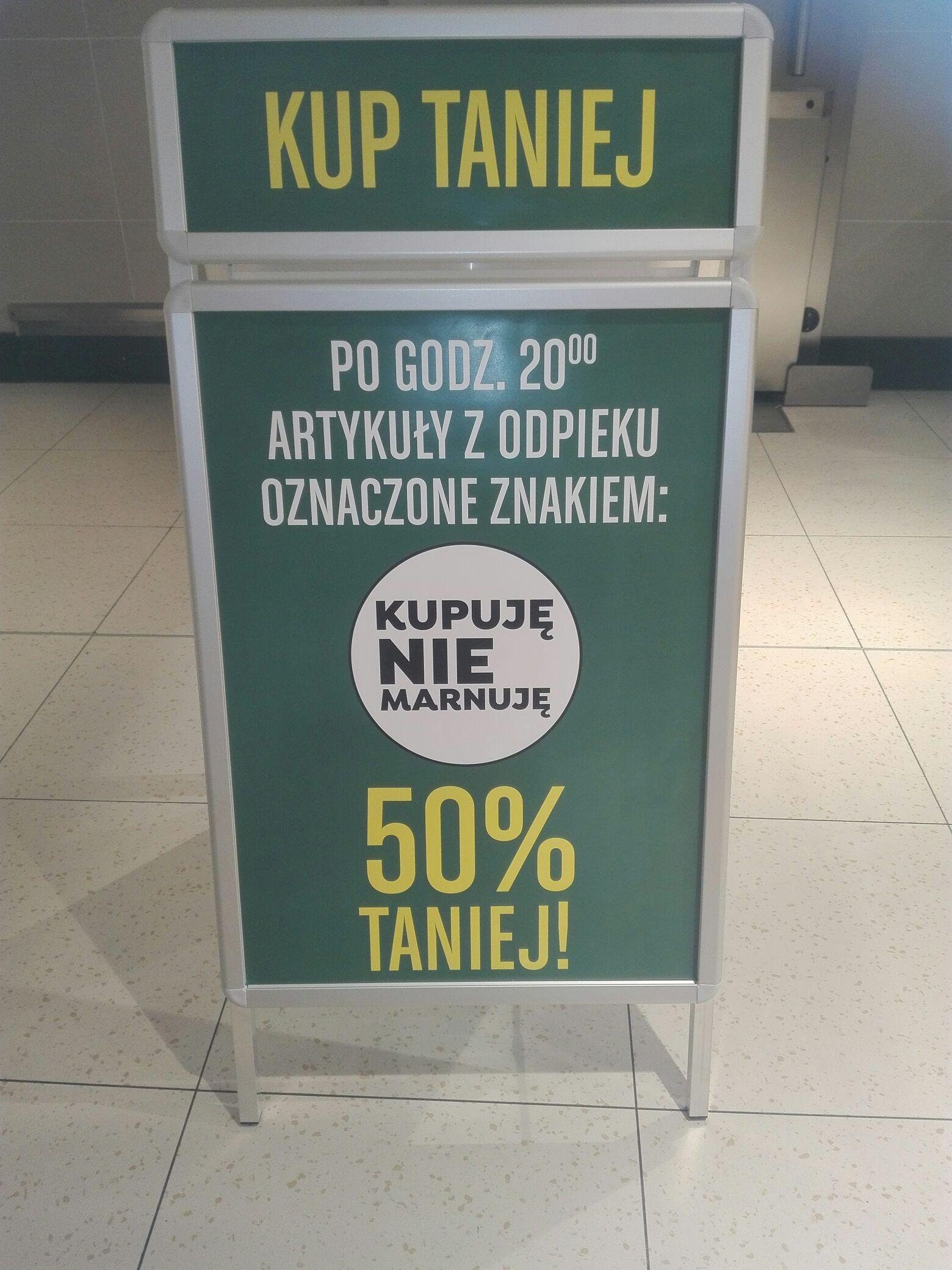 -50% na Ciastka i wybrane pieczywo w lidlu