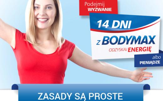 Bodymax - Odzyskaj energię... albo pieniądze! Cashback do 25zł