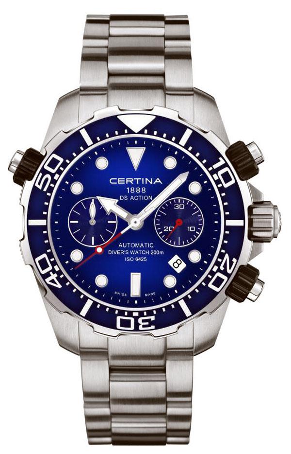 Zegarek Certina DS Action Diver Automatic Chronograph