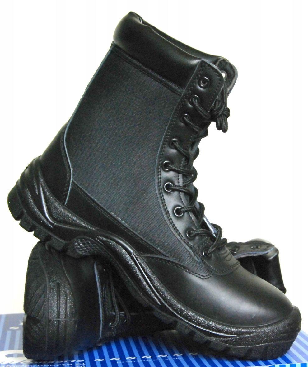 Buty wojskowe militarne. SKÓRZANE. Męskie roz. 40-46