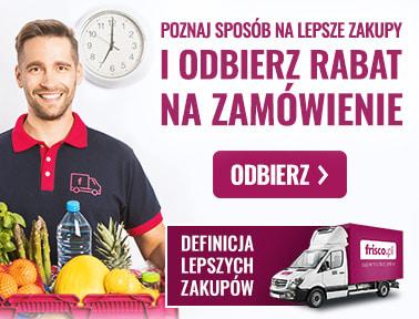 Frisco 25/150 zł plus darmowa dostawa dla nowych