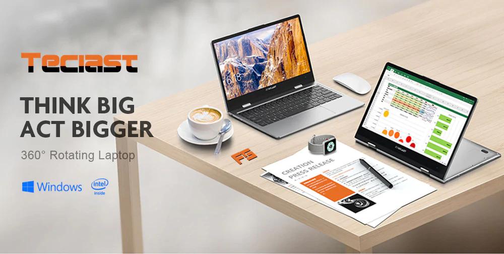 Laptopik Teclast F5 Laptop 360° 8/128gb