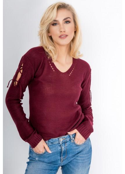 Przedłużono promocję do piątku do 9.00 ! fajne sweterki za 9.99 z wiązaniem na rękawach