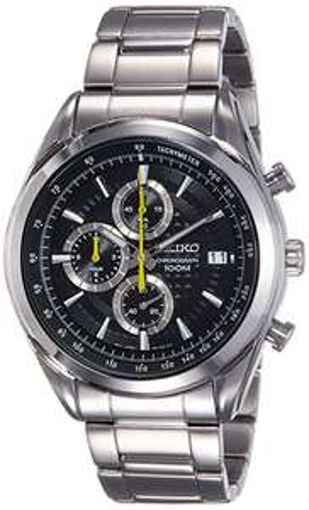 Zegarek Seiko chronograf 45mm na bransolecie
