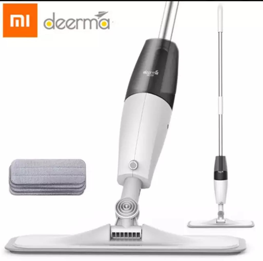 Xiaomi Deerma mop z natryskiem 360 stopni obracany ręczny Mijia  mop z natryskiem wody do  domu zamiatarka mop odkurzacz