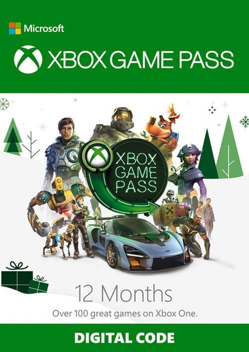 Xbox Game Pass 12 miesięcy