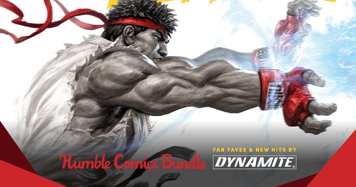HUMBLE COMICS BUNDLE: FAN FAVES & NEW HITS BY DYNAMITE