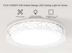 Yeelight YILAI YIXD0Yl 430 Hollow Design LED Smart Ceiling Light for Home - WHITE