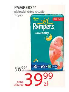 Pampers Maxi Pack za 39,99zł @ Hebe