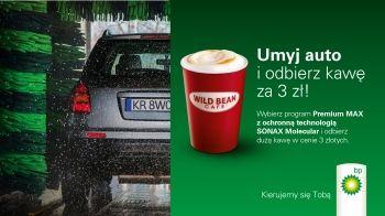 Umyj auto i odbierz kawę za 3 złote