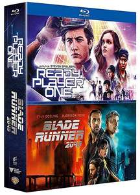 Ready Player One + Blade Runner 2049 (Blu-Ray) @ Amazon.fr