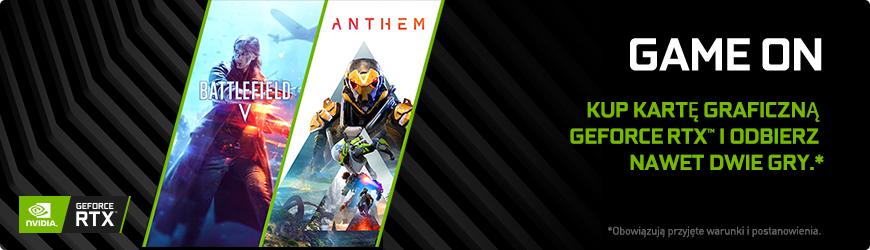 GeForce RTX 2060 z Battlefield V lub ANTHEM - x-kom.pl lub morele.net