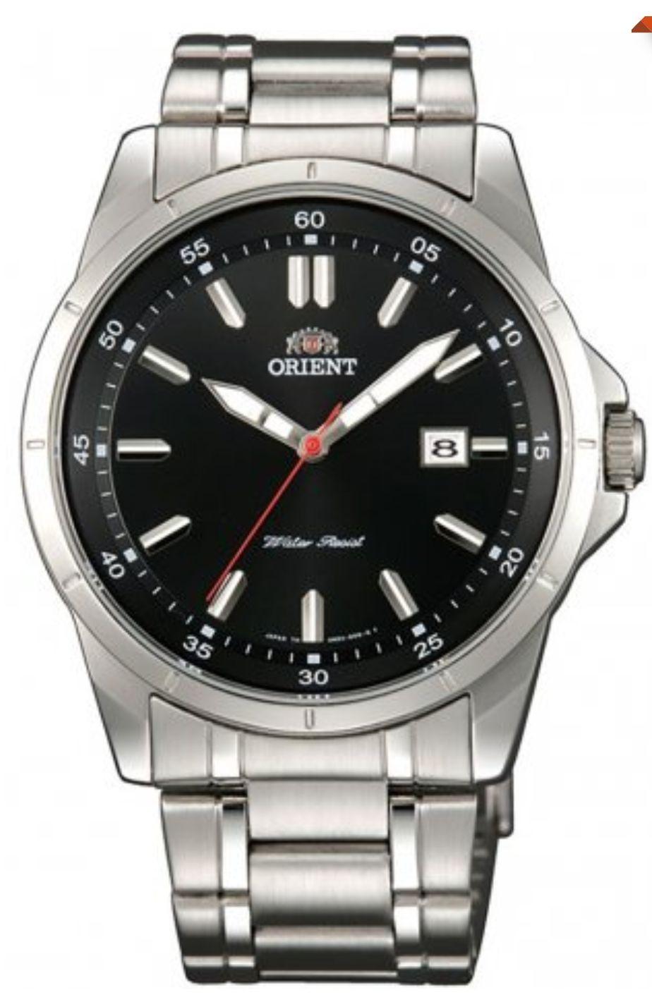 Zegarek ORIENT FUND3002B kwarcowy. Stal chirurgiczna. Męski 40mm.